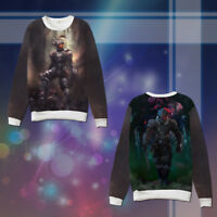 Anime Hoodie Goblin Slayer Character Unisex Man warm Casual Sweatshirt Sweater