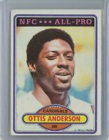 1980 Topps Football #170 OTTIS ANDERSON Rookie RC (Cardinals)