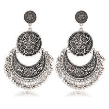 Women Boho Ethnic Tassel Coin Drop Dangle Vintage Earrings Fashion Jewelry Gift