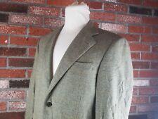 Ermenegildo Zegna Tessuto wool cashmere sport coat windowpane 50 EU 40R