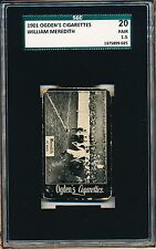 1901 Billy Meredith Ogden's Cigarettes SGC 20 = PSA 1.5 Rare Graded ROOKIE!