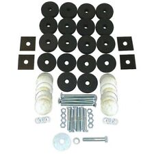 Omix-Ada 12201.01 Body Tub Mounting Kit Fits 41-75 CJ5 CJ6 MA MB Willys