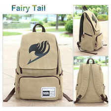 Anime Fairy Tail Canvas Backpack School Bag Outdoor Sport Fashion Boy Girls Gift