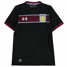 Solo maglia da calcio di squadre inglesi manica corta Aston Villa