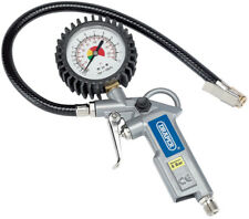 Draper Airline Car Tyre Inflator with Air Pressure Gauge for use with Compressor