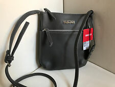 NEW ARRIVAL KENNETH COLE REACTION DUPLICATOR STEELE GRAY CROSSBODY SLING BAG $45