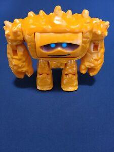 "RARE! Disney Pixar Thinkway Toy Story 3 CHUNK 9"" Rock Monster Figure Happy/Mean"