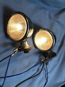 Packard Vintage Fender Cowl  Driving Parking Lights 1930 1931 1932 Standard 8