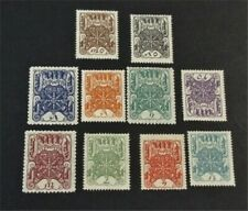 nystamps Russia Tannu Tuva Stamp # 1-10 Mint OG H $40