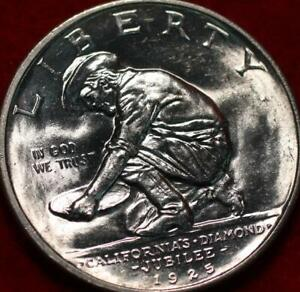 Uncirculated 1925-S San Francisco Mint California Jubilee Silver Half