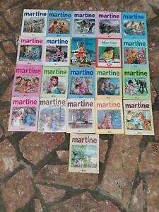Lot livre illustré Martine vintage