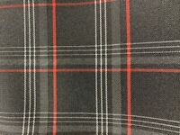 VW GTI Seating Fabric Sold By The Metre 4 Colours 4mm Foam Backed 150cm Wide