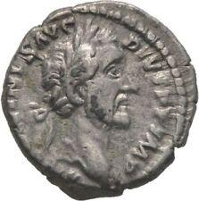 Ancient Rome Antoninus Pius AD 138-161 SILVER DENARIUS FORTUNA