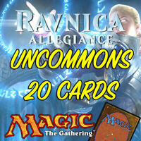 MTG Magic The Gathering Ravnica Allegiance RNA Job Lot 20 Uncommon Cards NM/M