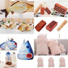 Fashion Creative Plush Toy Throw Funny Fish Penis Shape Cushion Soft Pillow Dec*