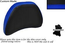 BLACK & ROYAL BLUE CUSTOM FITS HONDA GOLDWING GL1500 88-00 DRIVER BACKREST COVER