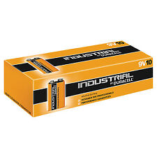 Duracell Industrial Alkaline Batteries (Box of 10) (Type PP3(9V))