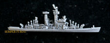 USS ALBANY CG-10 HAT LAPEL PIN UP .GUIDED MISSILE CRUISER MADE IN US NAVY GIFT