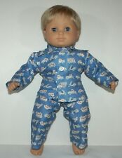 "Pajama for 15"" Bitty Baby Boy doll American Girl clothes"
