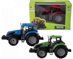 Keycraft 1 :3 2 Escala Granja Tractor 18CM-FM103 Camión Ruedas Diecast Fun Play