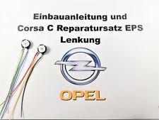 Opel Corsa C Power Steering Eps Repair Kit Assisted Servo