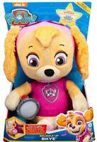 Paw Patrol ~~~ SNUGGLE UP SKYE ~~~ talking plush toy - FAST POST AUSSIE STOCK