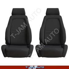 Explorer 4x4 4WD Bucket Seat Pair 2 x Black Cloth ADR Approved Toyota Hilux
