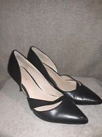 Nine West Black Heels Size 7.5 M Used