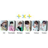 Kpop TXT Members Selfie Polaroid Lomo Photo Card Yeonjun HD Collective Photocard