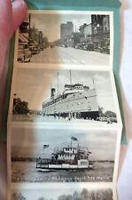 """Souvenir Folder of Sault Ste. Marie, Ontario, Canada"" 1920s 9 photos Keewatin"