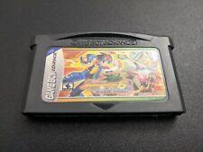 Mega Man 6 Battle Network Cybeast Falzar Nintendo Game Boy Advance NRMT cart