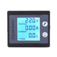 AC 80-260V LCD Digital 100A Volt Watt Power Meter Ammeter Voltmeter High Q xx