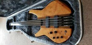 Status Graphite S2-Classic 4 String Headless Fretless Left-Handed Bass Guitar