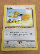 --Pokemon Base Set Dutch 1st/First Edition Doduo 48/102