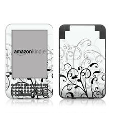 Kindle Keyboard Skin - W+B Fleur - Sticker Decal