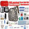 234/241 in1 SOS Überlebensset Survivalset Survivalkit Werkzeug/Survival Rucksack