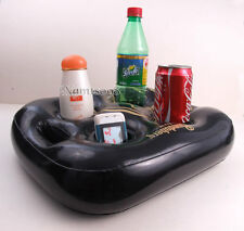 float Server Tray Drink Storage Holder/Pool Bar Party/Bottle Snack/Inflatable