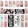 Case For iPhone 4 5 6 7 Plus SE 5c 8 X SE Pattern Skin TPU Soft Cover Silicone