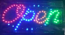 Open Store Neon Sign 19x10 Indoor Ultra Bright Flashing Led Beauty Display