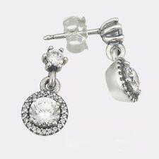 CLASSIC ELEGANCE ROUND Earring Dangles - .925 Sterling Silver ER1