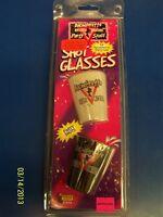 Bachelorette Ladies Night Outta Control Party Gift Favor 2 pc. Shot Glass Set