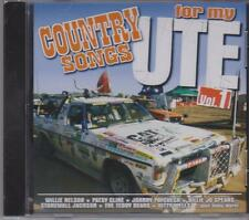 COUNTRY SONGS FOR MY UTE - VOL 1 - VARIOUS ARTISTS - CD - NEW -