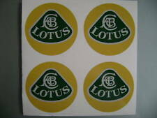4x45 mm fits lotus wheel STICKERS center badge centre trim cap hub alloy ye
