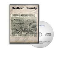 Bedford County Pennsylvania PA History Culture Genealogy 7 Books - D361