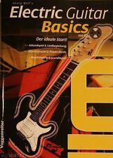 Gitarrenschule mit CD für E-Gitarre - von Voggenreiter - Elektrogitarrenschule
