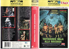 TARTARUGHE NINJA ALLA RISCOSSA (1991) VHS