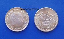 MONEDA de 5 pesetas 1957  *68  Franco S/C