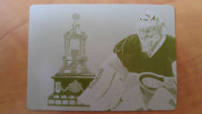 2012-13 Panini anthology CAREY PRICE Printing plate 1/1 VEZINA trophy