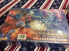 Transformers Lot of 22+from the 1980?s With Collectors Case Toy Vintage Original