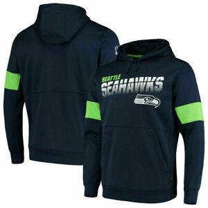 NFL Herren Hoodies Seattle Seahawks 100th Anniversary Pullover Sweatshirts
